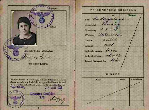 Reisepass-Miriam-Adler-geb.-Cohn