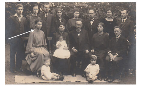 24_Kehla Bamberger-Familienfoto Seckel Bamberger