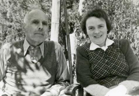 83_Grete und Ludwig Ehrlich nach der Emigration in Palästina, 1946Ehr Kopie