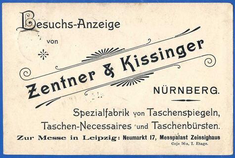 Firma Zentner & Kissinger