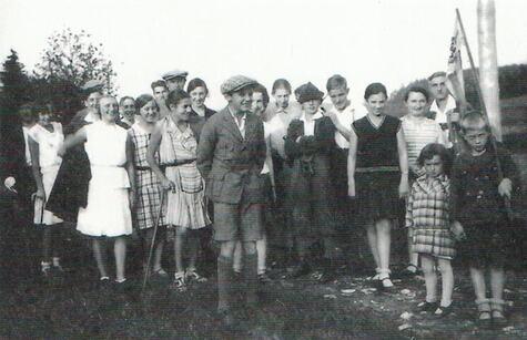 397_Ausflug Charlotte Neustädter mit Schwimmverein SV Poseidon Neumarkt, 1932:33
