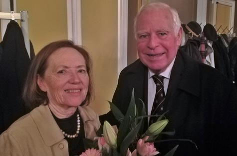 E. O. Krakenberger und Marlies Walter